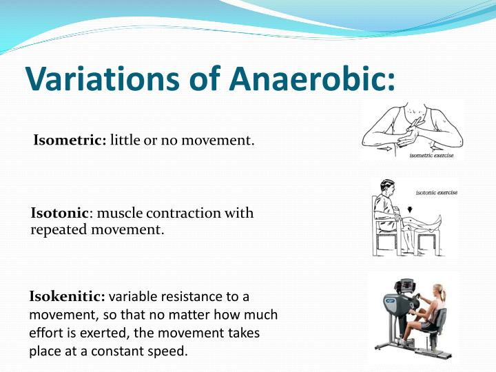 Variations of Anaerobic: