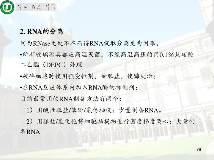2. RNA
