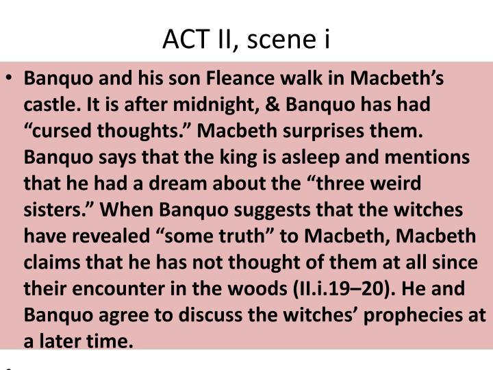 ACT II, scene