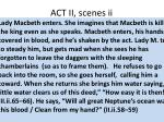 act ii scenes ii