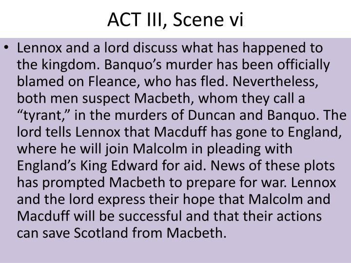 ACT III, Scene vi
