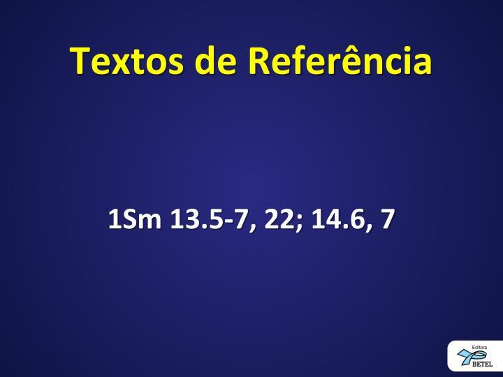 Textos de Referência