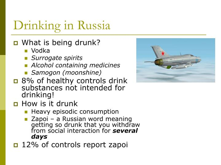 Drinking in Russia