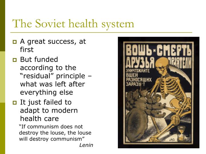 The Soviet health system