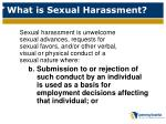 what is sexual harassment2