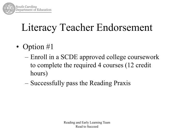 college coursework teaching literacy skills Developmental education academic skills math the math skills faculty strongly believe in the student's right to succeed by providing: accurate placement flexible ways to move forward in the program courses that satisfy varied learning styles the goal of the math skills department at camden county college is to provide students with the.