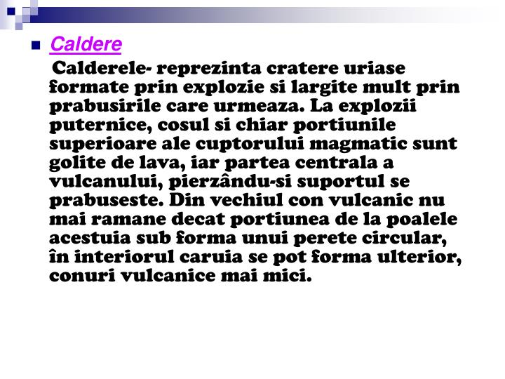Caldere