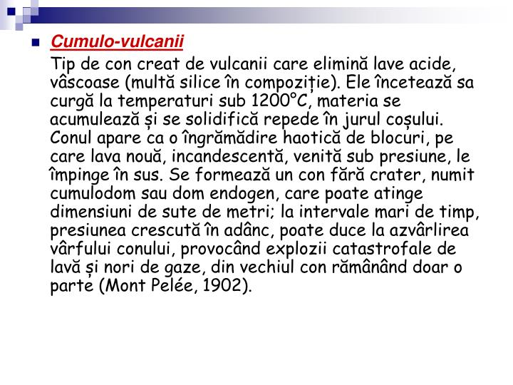 Cumulo-vulcanii