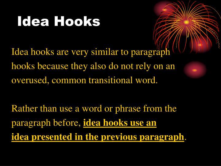 Idea Hooks