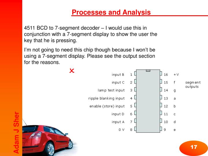 Processes and Analysis