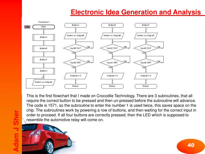 Electronic Idea Generation and Analysis