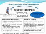 notificaci n de los actos administrativos1