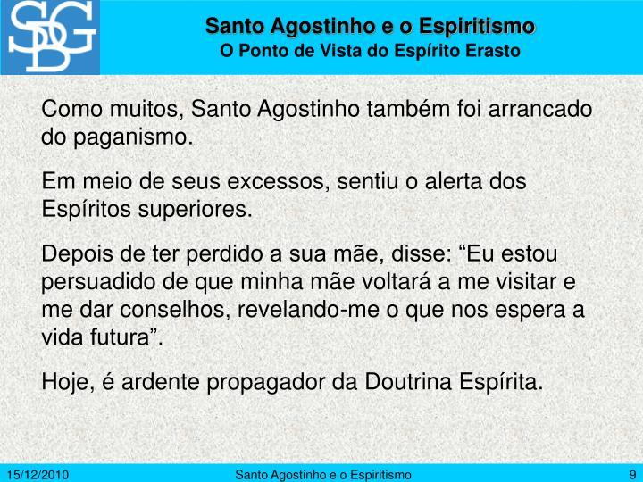 Santo Agostinho e o Espiritismo