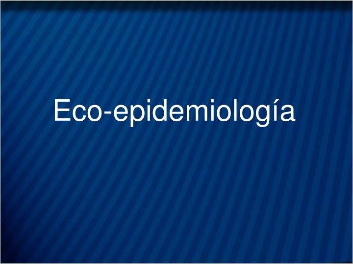 Eco-epidemiología