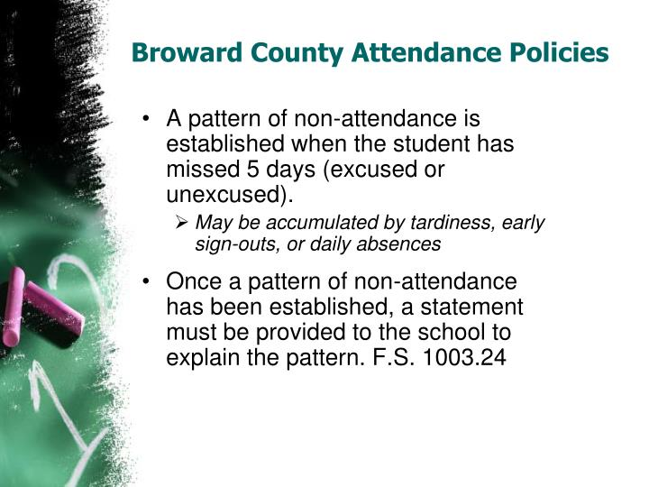 Broward County Attendance Policies