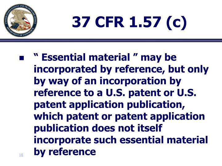 37 CFR 1.57 (c)