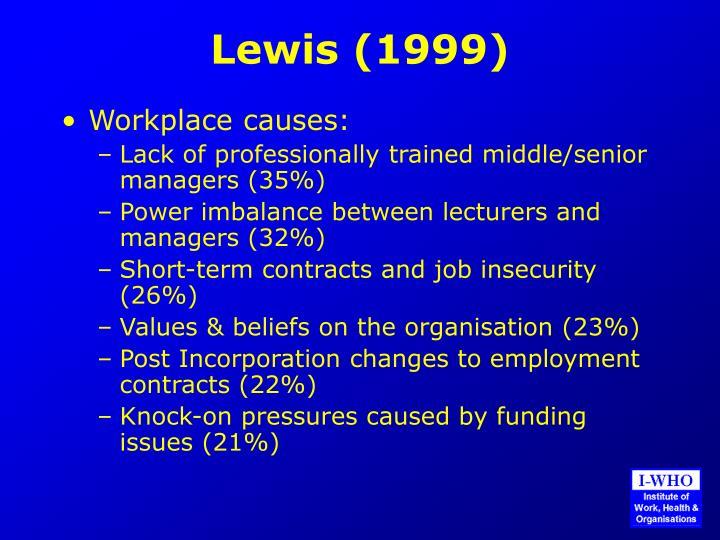 Lewis (1999)