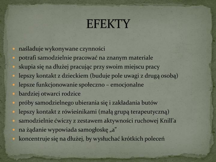 EFEKTY
