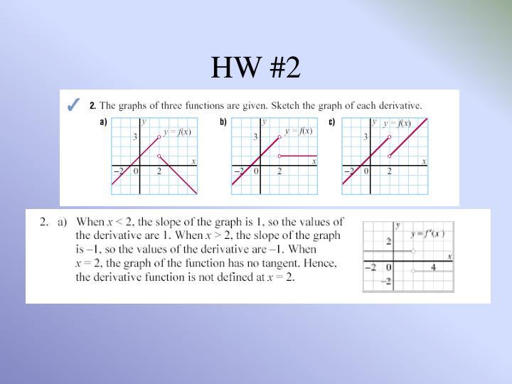 HW #2
