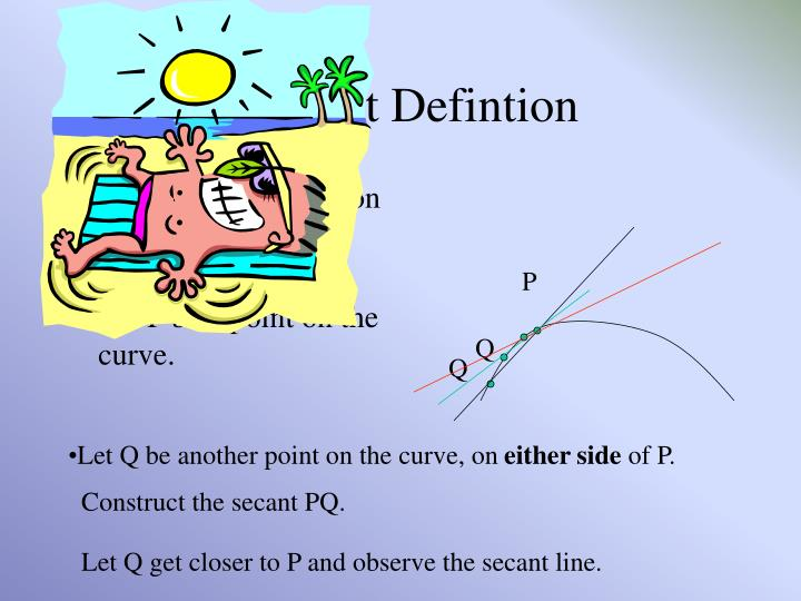 Tangent Defintion