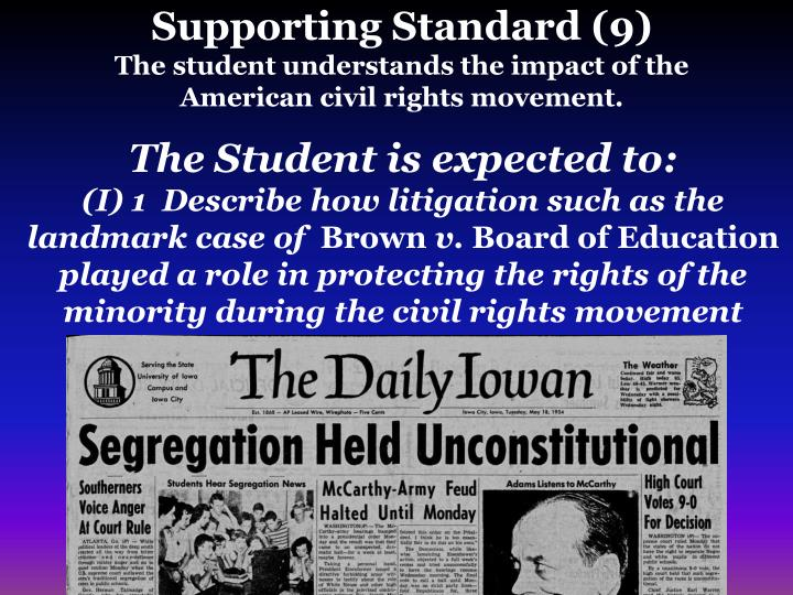 civil rights movement effects american families Understanding the american civil rights  to have an effect on civil rights in america 4 the families of civil rights  the american civil rights movement 6.