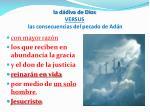 la d diva de dios versus las consecuencias del pecado de ad n4