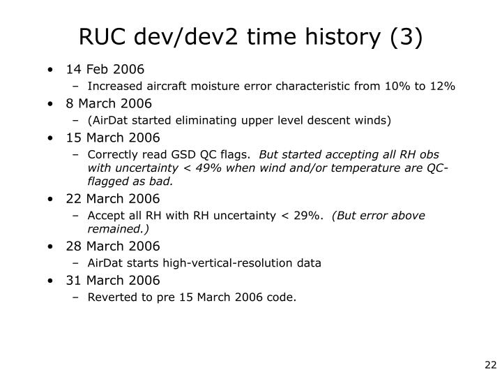 RUC dev/dev2 time history (3)