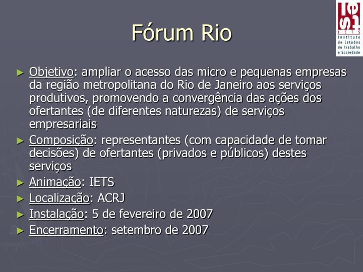 Fórum Rio