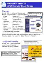 webwatch trawl of uk university entry pages3