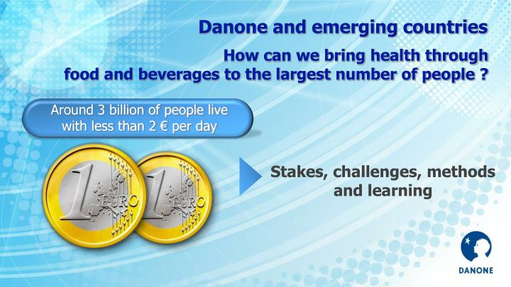 Danone and emerging countries