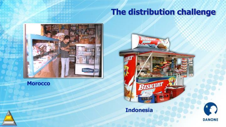 The distribution challenge