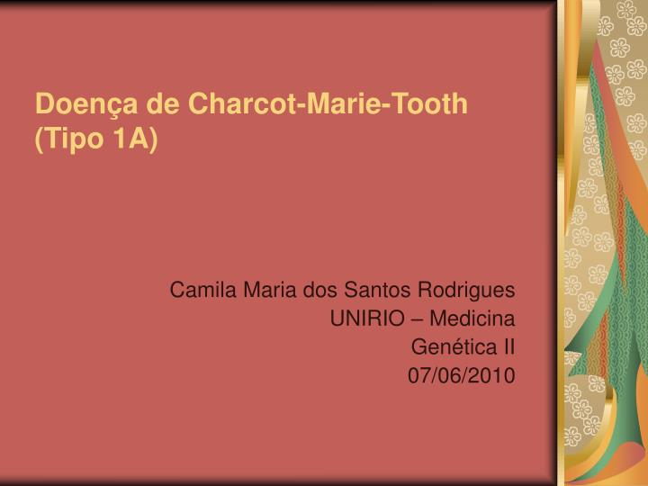 Doen a de charcot marie tooth tipo 1a
