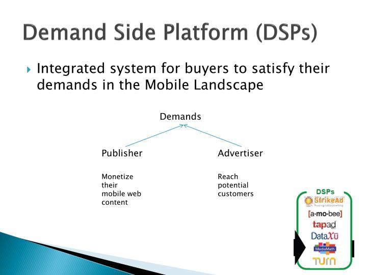 Demand Side Platform (DSPs)