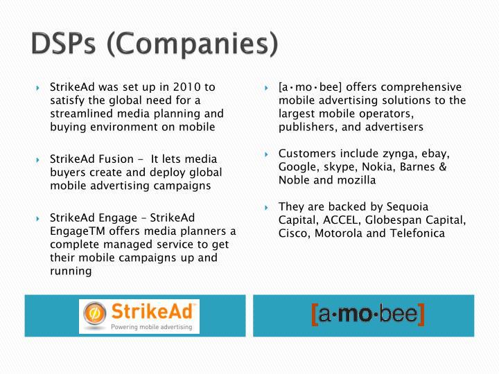DSPs (Companies)