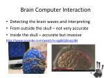 brain computer interaction