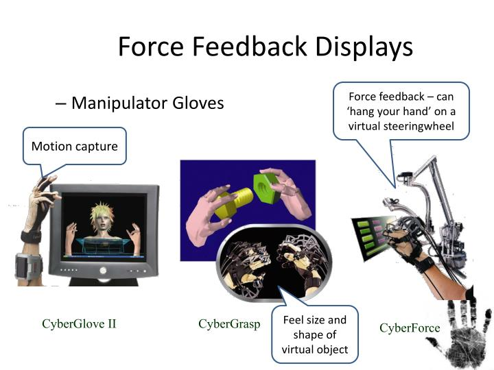 Force Feedback Displays