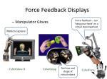force feedback displays