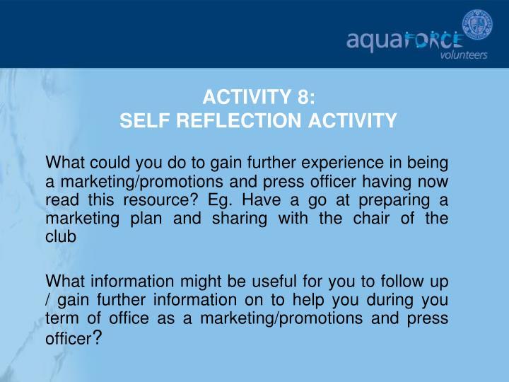 ACTIVITY 8: