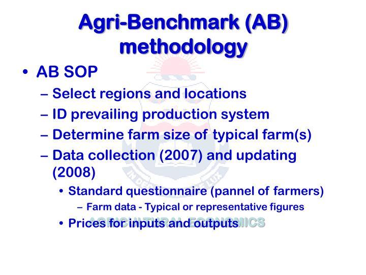 Agri-Benchmark (AB) methodology
