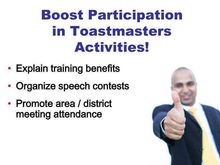 Boost Participation