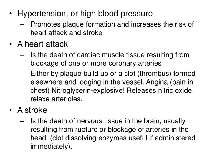 Hypertension, or high blood pressure