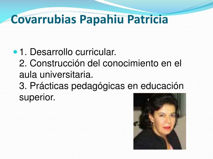 Covarrubias Papahiu Patricia