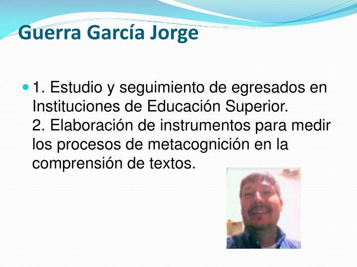 Guerra García Jorge