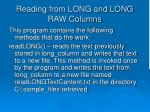 reading from long and long raw columns2