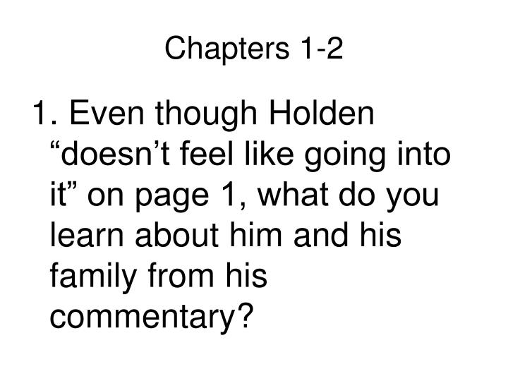Chapters 1-2