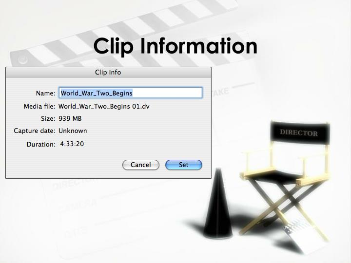 Clip Information