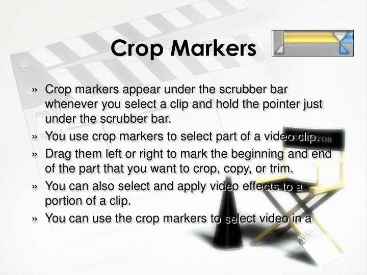 Crop Markers