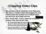 cropping video clips