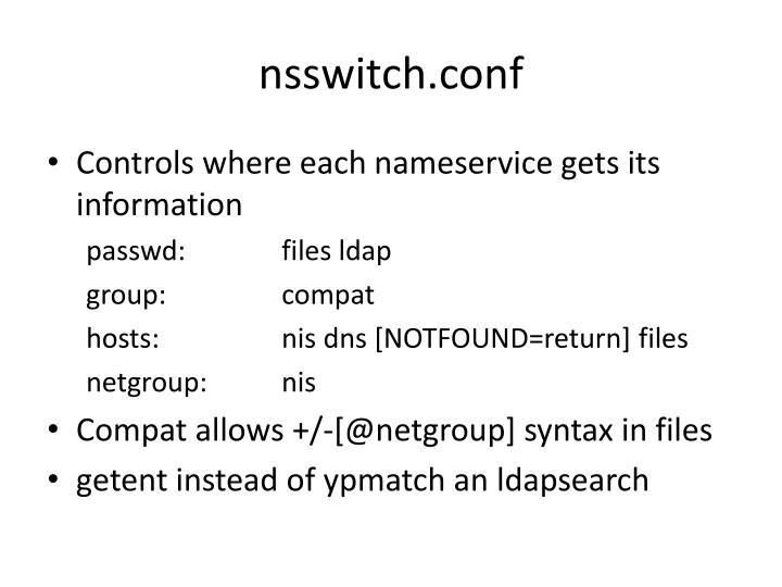 nsswitch.conf