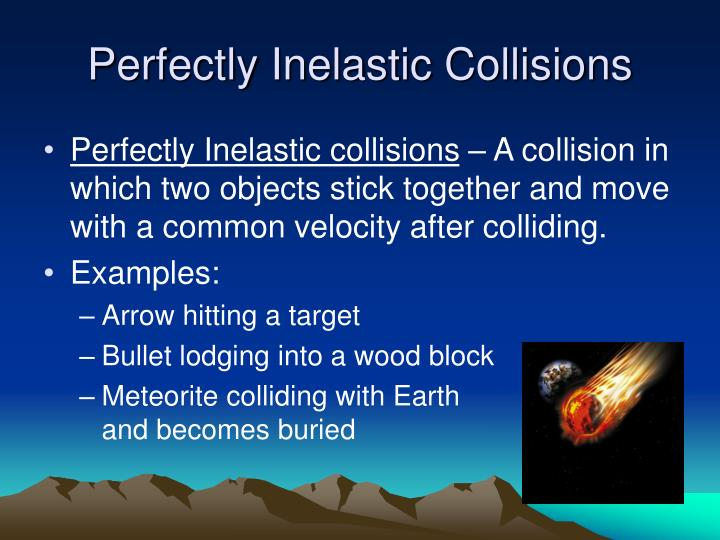 PPT - Elastic and Inelastic Collisions PowerPoint ...